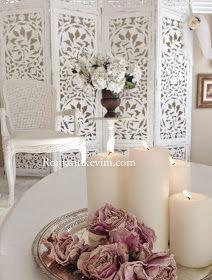 ROMANTIC HOME   Turkiyenin ilk shabby chic ev dekorasyonu blogu Amerikanin en populer ev dekorasyonu dergisinde-   vintage dekorasyon fle...