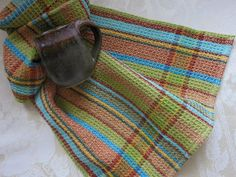 Your place to buy and sell all things handmade Guest Towels, Modern Colors, Dobby, Turquoise Color, Dish Towels, Weave, Waffles, Hand Weaving, Scarves