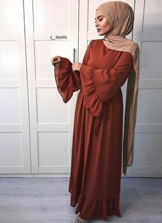 UntitledYour scarf is the most important part from the outfits of girls together with hijab. Modest Fashion Hijab, Stylish Hijab, Hijab Style Dress, Modern Hijab Fashion, Modesty Fashion, Hijab Fashion Inspiration, Abaya Fashion, Muslim Fashion, Fashion Dresses