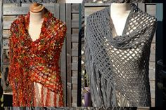 Improve an occurrence look along with a gorgeous motion for getting a gorgeous outfit. Knit Cowl, Crochet Cardigan, Crochet Scarves, Crochet Clothes, Diy Crochet, Crochet Top, Camelo, Shrug For Dresses, Poncho Shawl