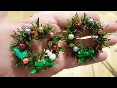 Dollhouse Round Wreath - YouTube