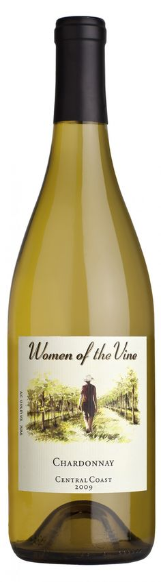 Women of the Vine Chardonnay, Central Coast, 2009 (Had a bottle of this wine in Memphis but can't find it anywhere. Very good wine.)