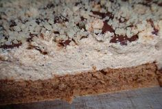 Jednoduché kávové řezy s ořechy Yummy Cookies, Banana Bread, Oatmeal, Food And Drink, Treats, Cheese, Breakfast, Sweet, Recipes