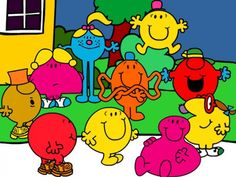Humanoid shapes Mr Men Books, Children s Books, Story Books, My Youth,  Little 6f6f62179a41