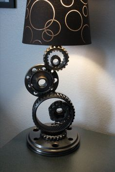 Gear Lamp Antique Auto Art lucas.erickson7@gmail.com
