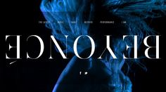Beyoncé | Awwwards | Site of the day