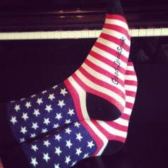 Is it 4th of July yet? | Good Luck Sock | goodlucksock.com #socks