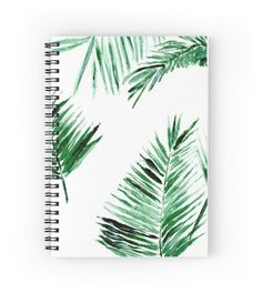 â–² Palm Leaf Notebook â–² This is a notebook with my art printed on it. About the notebook: Notebook Cover Design, Notebook Art, Diy Notebook Cover For School, Cute Notebooks For School, Notebook Covers, Notebook Quotes, Journal Covers, Bullet Journal, Book Journal