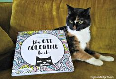The Cat Coloring Book is an excellent gift for cat-loving older kids and adults this holiday season.