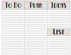 To Do Daily Planner Printable - The Bold Abode