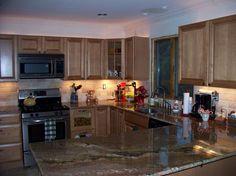 kitchen remodel backsplashes | Kitchen: Excellent Orange Tile Backsplash Modern Design, Pots, Orange ...