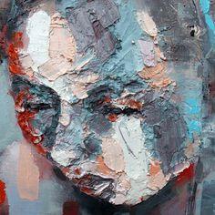 thomas donaldson, 5-19-15 figure (detail), oil on canvas, 150x130cm on ArtStack #thomas-donaldson #art