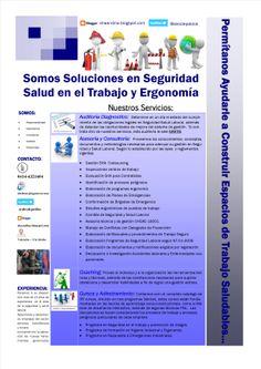 Soluciones efectivas en seguridad salud laboral y ergonomía.