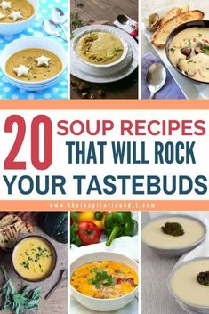 Soup is an in-demand recipe this cold season. You will never run out again of soup recipes because we have gathered the best soup recipes that you should prepare for the whole family. These flavorful soup are, of course, easy to prepare, packed with nutritious ingredients, and perfect comfort food for all. Get your list of this fantastic soup recipes at the link included on this pin. Enjoy! Bariatric Eating, Bariatric Recipes, Bariatric Surgery, Pureed Food Recipes, Healthy Soup Recipes, Healthy Lunches, Skillet Recipes, Lunch Recipes, Delicious Recipes