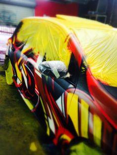 Custom painted Golf 6 GTI
