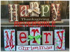 Hey, I found this really awesome Etsy listing at https://www.etsy.com/listing/168830559/reversible-christmas-and-thanksgiving