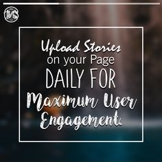 Implementing Instagram Stories is a good move for brands in the big pictures. #tuesdaythoughts #instagrammarketing #upload #stories #marketingstrategy #instagramstories #instagrampage #daily #maximum #user #engagement #branding #pictures #businessstrategy #instagrammarket