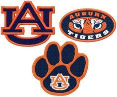 Auburn Football, Auburn Tigers, College Football, University Logo, Auburn University, Machine Embroidery Patterns, Quilt Patterns, Embroidery Ideas, Alabama Quilt