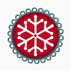Layered Snowflake Embellishments!