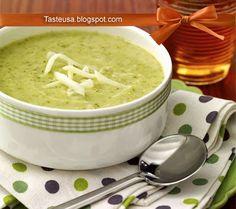 cheesy broccoli & potato soup recipe