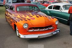 Flamed Lead Sled | Forged Photography