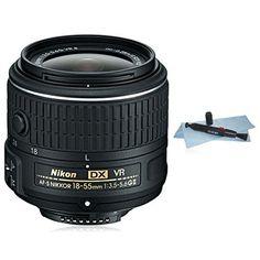Nikon 18-55mm f/3.5-5.6G VR II AF-S DX NIKKOR Zoom Lens (White Box) for Nikon DX DSLR Cameras D3100, D3200, D3300, D5100, D5200, D5300, D5500, D7000, D7100, D7200… + AUD Lens Pen and Microfiber Cloth Cleaning System
