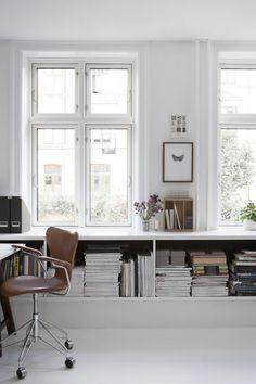 Modern home in Frederiksberg, Copenhagen, by interior stylist & graphic designer Mette Bonavent | Photo by Gyrithe Lemche for Boligliv | via styleandcreate.com