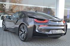BMW i8 achterkant | Louis Snellers | Exclusieve auto's My Dream Car, Dream Cars, Bmw I8, Bentley Gt, Power Cars, Sweet Cars, Love Car, Bmw Cars, My Ride