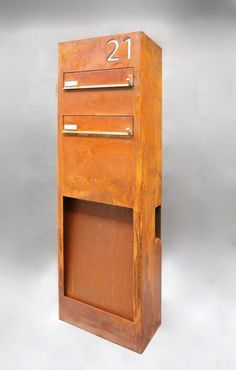 mailboxes briefk sten on pinterest industrial chic patinas and design. Black Bedroom Furniture Sets. Home Design Ideas