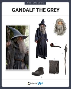Classic book character and now movie icon, Gandalf the Grey is the most powerful wizard in the Lord of the Rings series.