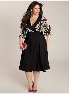 Beautiful plus size dress