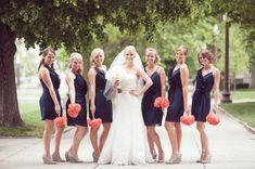 Fab You Bliss Lifestyle Blog, Jessika Feltz Photography, Navy & Coral Indianapolis Wedding 27