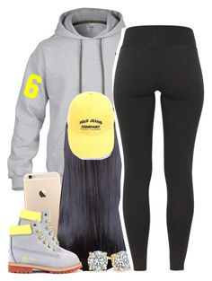 """""""Untitled #1390"""" by lulu-foreva ❤ liked on Polyvore featuring Gorjana and Timberland"""