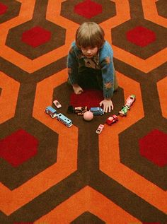Redrum... (on a side note, the carpet is dope...)