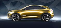 The DS7 looks like a show car, but it's going into production
