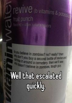 Well that escalat... | Whisper - Share, Express, Meet