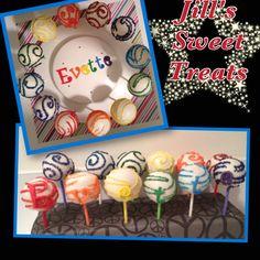 Rainbow cake pops Birthday Cake Pops, Rainbow Birthday, 2nd Birthday, Birthday Ideas, Rainbow Cake Pops, Best Part Of Me, Food Videos, Sweet Treats, Birthdays