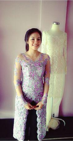 Kebaya for my wedding reception..