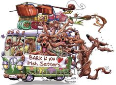 Bark If You Love - Irish Setter