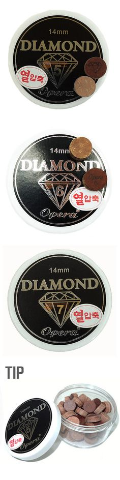 Cue Tips 75188: 50Pcs [Opera] Diamond 5 6 7 Layers 14Mm Tips Billiards Pool Cue Snooker -> BUY IT NOW ONLY: $49.9 on eBay!
