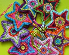 Crochet pattern Christmasball L by ATERGcrochet by ATERGcrochet