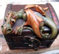 Dragon Box by feythcrafts on Etsy