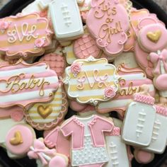 baby shower cookies, - Google Search