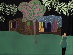 Tom-Hammick-B.-1963-Getaway-2014-reduction-woodcut-edition