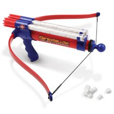 The Double Barreled Marshmallow Crossbow - Hammacher Schlemmer .. for Kyle