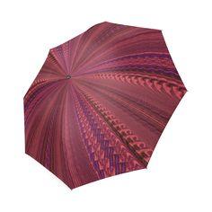 pEACHY cORAL Foldable Umbrella