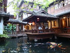 taichung teahouses | The renaissance of chinese tea houses in the 70's was mainly due to ... Wu Wei Tsao Tang Tea House, Taichung, Taiwan
