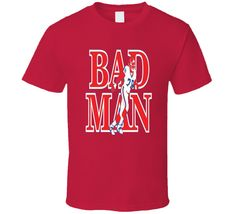 Bruce Smith Bad Man Buffalo Football T Shirt