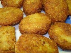 Croquetas de falafel- Una estupenda manera de aprovechar garbanzos cocidos