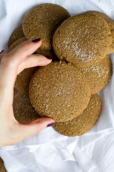 Vegan Coconut Butter Gingersnaps and Tazo Teas